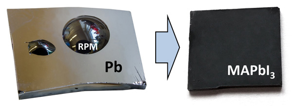 New formation strategy of hybrid perovskites via room temperature reactive polyiodide melts